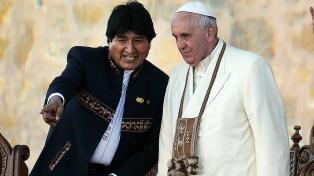 El papa Francisco recibirá el sábado a Evo Morales