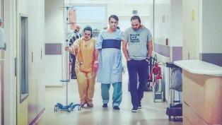 """El estado de salud de Bolsonaro presentó una """"mejora clínica progresiva"""""""