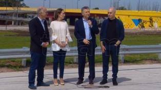 """Macri afirmó que las obras se hacen """"sin que nadie se lleve un mango que no corresponde"""""""