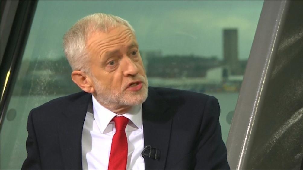 Jeremy Corbin, líder del laboristmo británico
