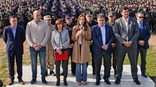 Vidal y Bullrich refuerzan las calles con 1500 efectivos en el ámbito bonaerense