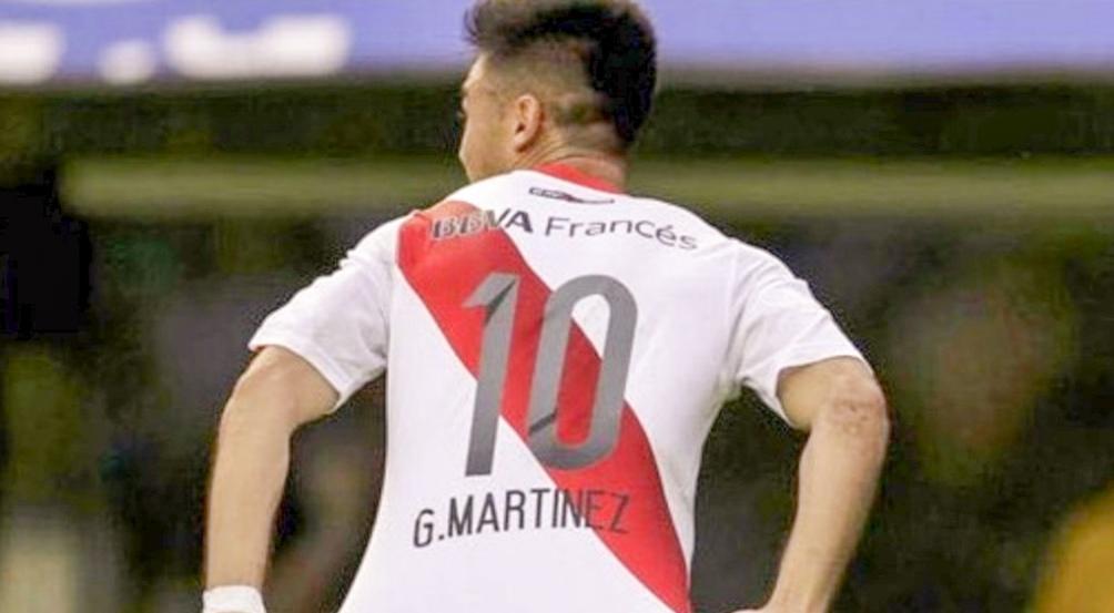 Probablemente Martínez es el jugador más extrañado por los hinchas de River