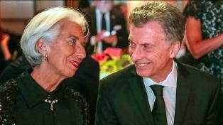 Macri y Lagarde compartieron una mesa en la cena de gala del Global Citizen Award