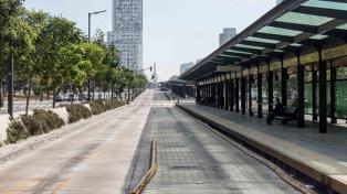 La CGT realiza el cuarto paro en la gestión de Macri