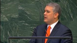 "Duque afirma que el ""fin de la dictadura"" de Maduro es ""un reto global"""