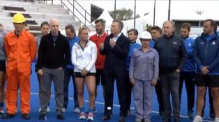 Macri recorre el Parque Olímpico y a la tarde hará declaraciones a la prensa
