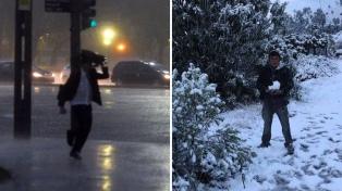 Alerta por tormentas y nevadas