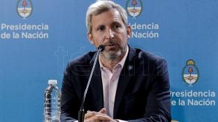 El ministro Frigerio inaugura obras financiadas por la Nación