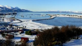 Ushuaia Transita La Temporada De Invierno Con La Nieve Como