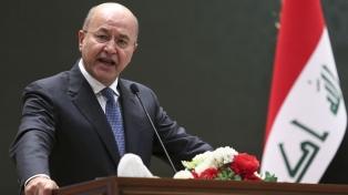El kurdo progresista Saleh es el nuevo presidente