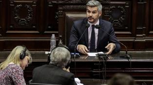 """Peña defendió la política oficial de DDHH y descartó """"rearmar"""" el presupuesto"""