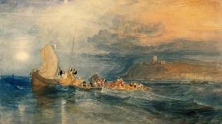 Las acuarelas de William Turner, el pintor romántico en búsqueda del paisaje ideal