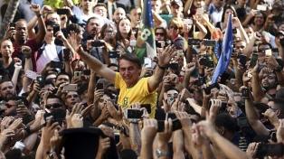 Bolsonaro recordó que hace un año recibió la puñalada en plena campaña