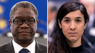 Un médico y una activista reconocidos por combatir la violencia sexual en guerras
