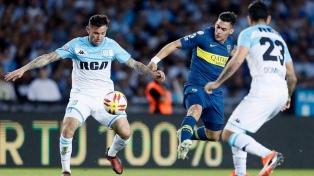 Racing y Boca igualaron 2 a 2 en Avellaneda