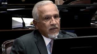 """""""Sin duda que no voy a votar por Cristina jamás"""", dijo el senador Romero"""