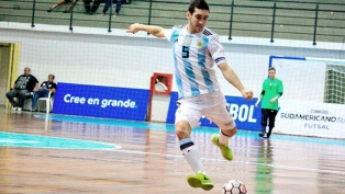 "La Selección Argentina de Futsal debutó empatando con Egipto en ""Buenos Aires 2018"""
