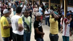 Cerca de 30 millones de brasileños no fueron a votar ayer