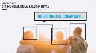 Lanzan la campaña #NoEtiquetes para concientizar sobre la esquizofrenia