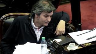 """Máximo Kirchner propuso sus cuatro puntos: """"Desayuno, almuerzo, merienda y cena para todos"""""""