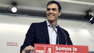 Sánchez recaba apoyos en el inicio de la ronda de diálogos del rey