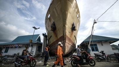 Los muertos por el terremoto y el tsunami superan los dos mil