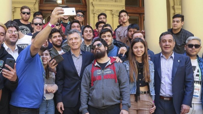 El presidente Macri recibió a los ganadores del concurso