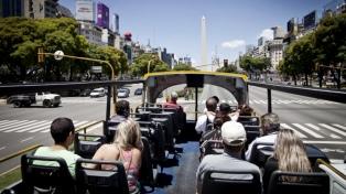 Unos 2,7 millones de turistas visitaron la Ciudad en 2018