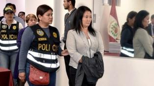 Keiko Fujimori seguirá presa