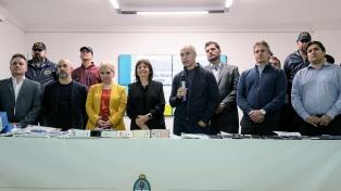 Presentaron la campaña para el registro de las líneas de celulares prepagos