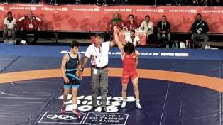 El luchador Eduardo Lovera perdió la segunda pelea y ahora va por el bronce