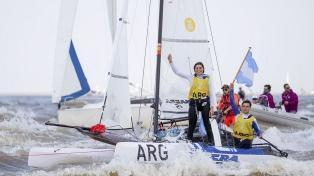 Oro en yachting para el binomio argentino Cittadini y Romairone