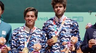 El dobles masculino de tenis le dio la quinta medalla dorada a la Argentina