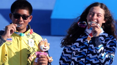 La argentina Agustina Giannasio logró la medalla de plata en tiro con arco