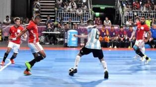 Luego de la caída ante Brasil, el Fútsal de Argentina va por el bronce