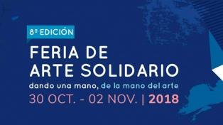 Obras de más de 300 artistas en la feria solidaria ArteLamroth