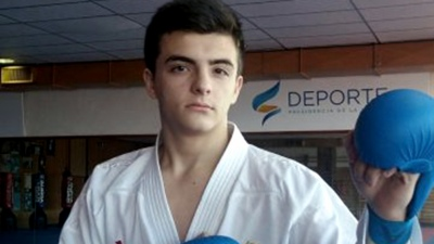 El karateca Juan Salsench Martínez no llegó a semifinales
