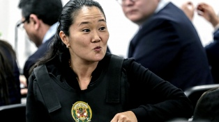 Keiko Fujimori vuelve a declarar por los aportes de Odebrecht