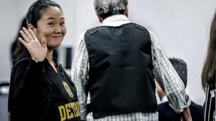 La Justicia ordenó liberar a Keiko Fujimori