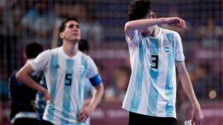 Argentina perdió con Egipto y se quedó sin la medalla de bronce en el Futsal
