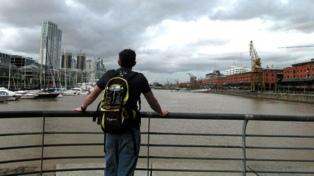 Lluvias aisladas y una máxima de 18 grados en la ciudad de Buenos Aires