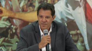 """Derrotado, Haddad habla de """"coraje"""" para defender el pensamiento y las libertades ante Bolsonaro"""