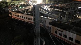 Taiwán confirmó 18 muertos y 168 heridos por el descarrilamiento de un tren