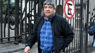 Carzoglio denunció que dos espías le llevaron escrita la orden de detención de Pablo Moyano