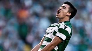 Marcos Acuña amplió su contrato con el Sporting de Lisboa