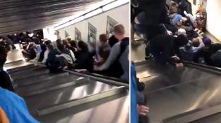 El subte de Roma dice que estaba en regla la escalera mecánica que provocó el accidente