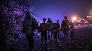 Detuvieron a migrantes centroamericanos que se dirigían a EE.UU.