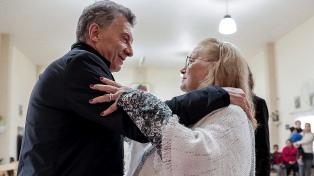 """Macri: """"Esperamos todos los días ayudar a dar un paso en la dirección correcta"""""""