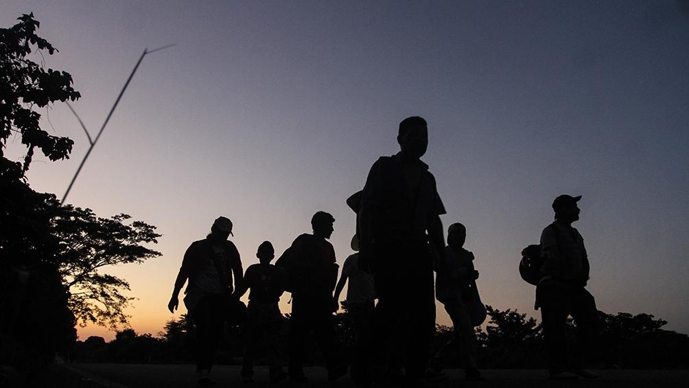Hay 2.000 migrantes en ruta a EE.UU. alojados en albergues fronterizos