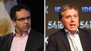Dujovne y Sandleris viajan a Londres y Nueva York a explicar el nuevo panorama económico